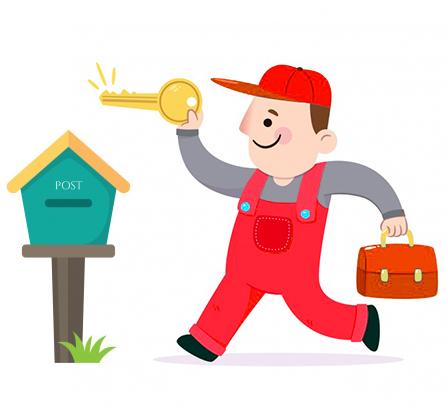 key mailbox